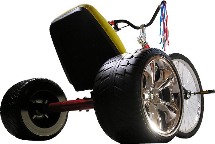 Adult-sized Big Wheel