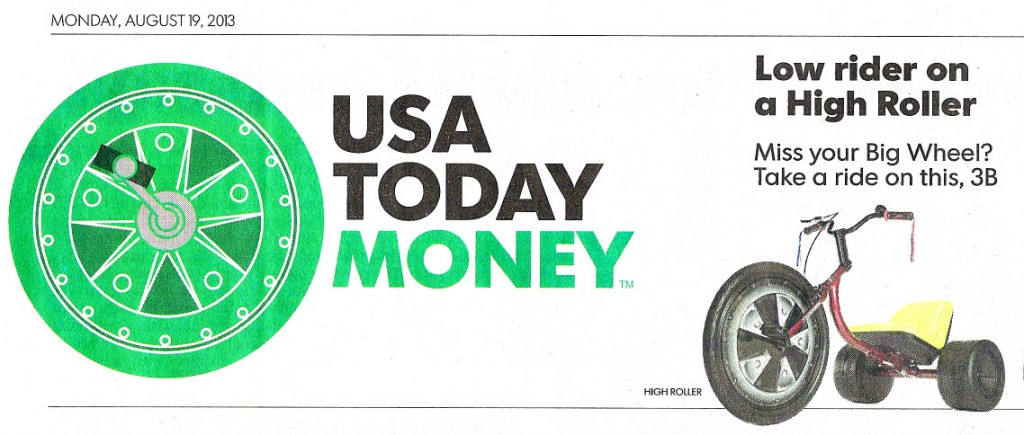 USA Today Money Headline
