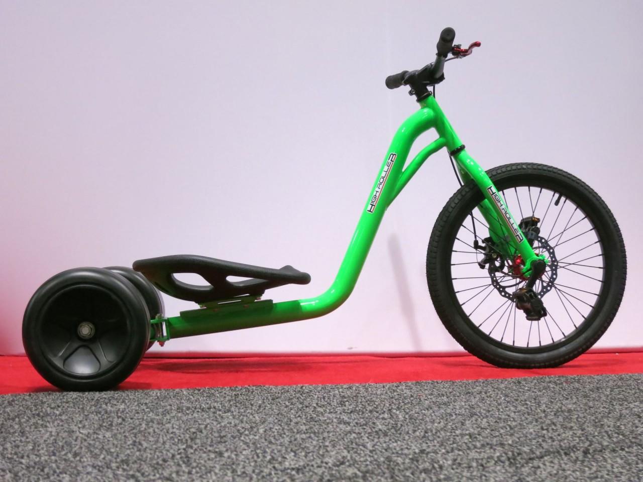 High Roller Straight Blade, Downhill Drift Trike   High Roller USA